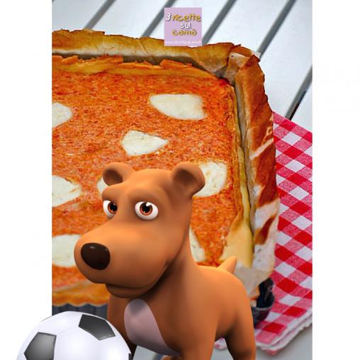 la pizza dei giochi olimpici