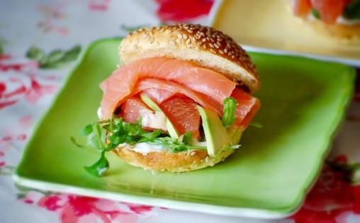panino salmone e avocado