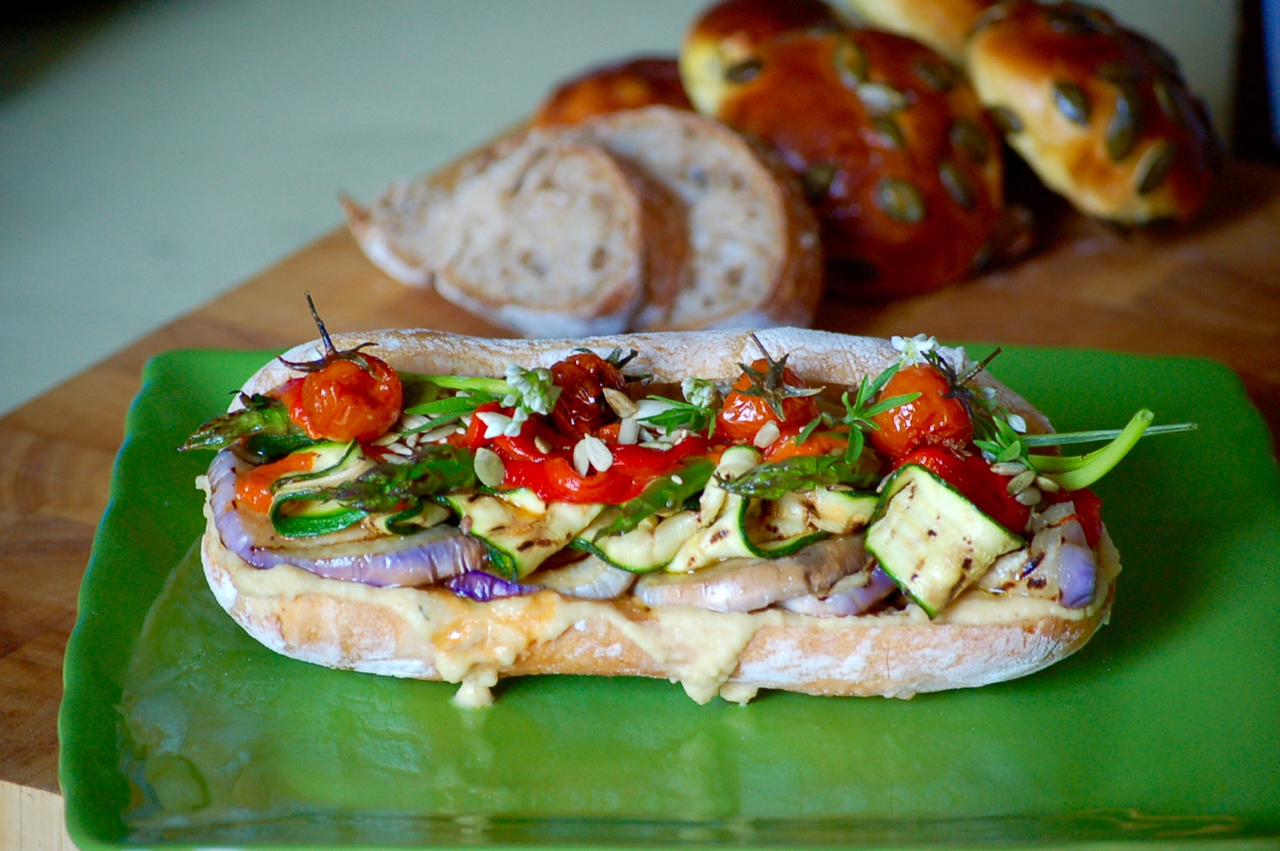 Favorito Panino   vegetariano - 3 Ricette sul Comò JY14