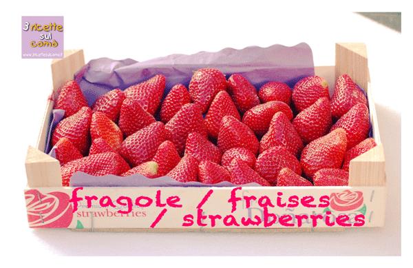 cesta di fragole