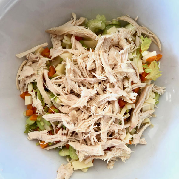 insalata-di-pollo-sfilacciata