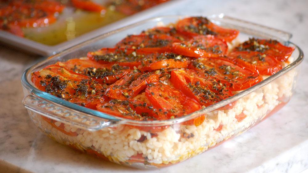 pomodori e riso